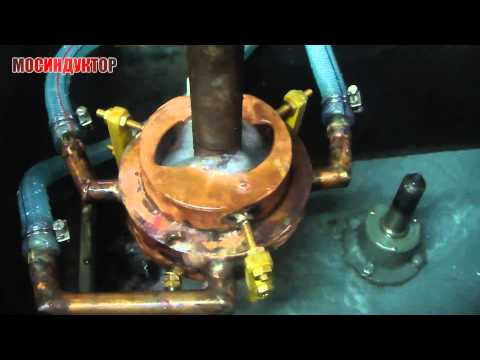 Индукционная закалка кулачка циклическим индуктором