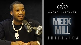 The Angie Martinez Show - Meek Mill Talks #FreekMeek, Kanye West & Helping Others Regain Freedom