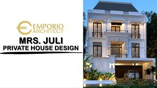 Video Mrs. Juli Classic House 3 Floors Design - Jakarta
