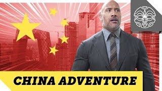 THE ROCK TAKES BEIJING