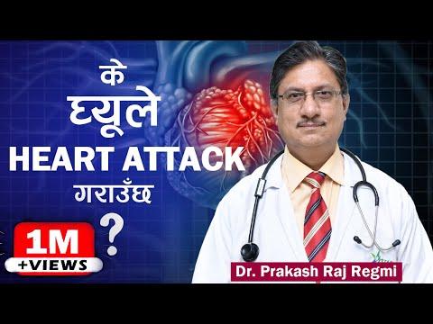 मुटु रोग लागेको छ छैन ? आफै पत्ता लगाउनुहोस् ( Healthy HEART TIPS ) - Dr. Prakash Raj Regmi