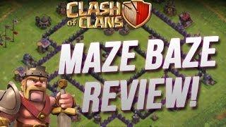 Clash of Clans :: Maze Baze Review - It's Beast