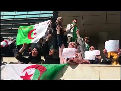 Αλγερία: Μαζικές διαδηλώσεις κατά του Μπουτεφλίκα