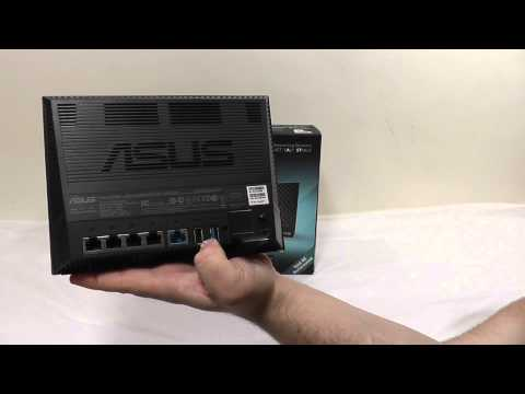 ASUS RT-AC56U Wireless-AC1200 Gigabit Router Overview + Unboxing + Benchmarks