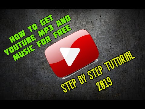 How to download mp3 songs from YouTube ~for FREE~ step by step 2019