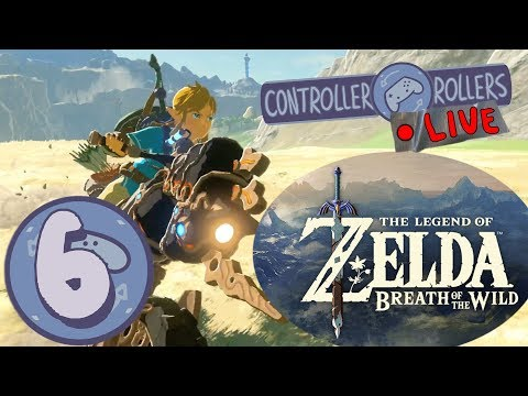 The Legend of Zelda: Breath of the Wild - The Champions' Ballad (Part 6) - Controller Rollers Live