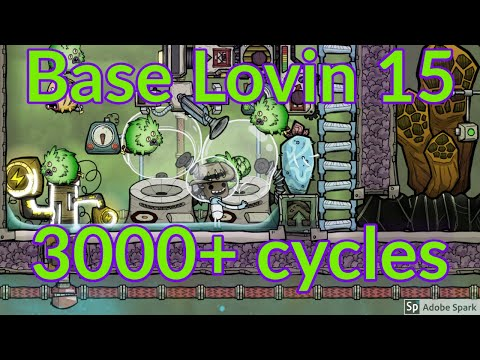 Base Lovin 15 : Multiple magma powered devices : Oxygen not included