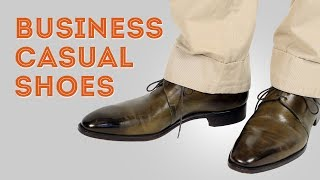 Business Casual Mens Shoes & How To Wear Them