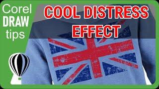 Distress Effect In CorelDraw