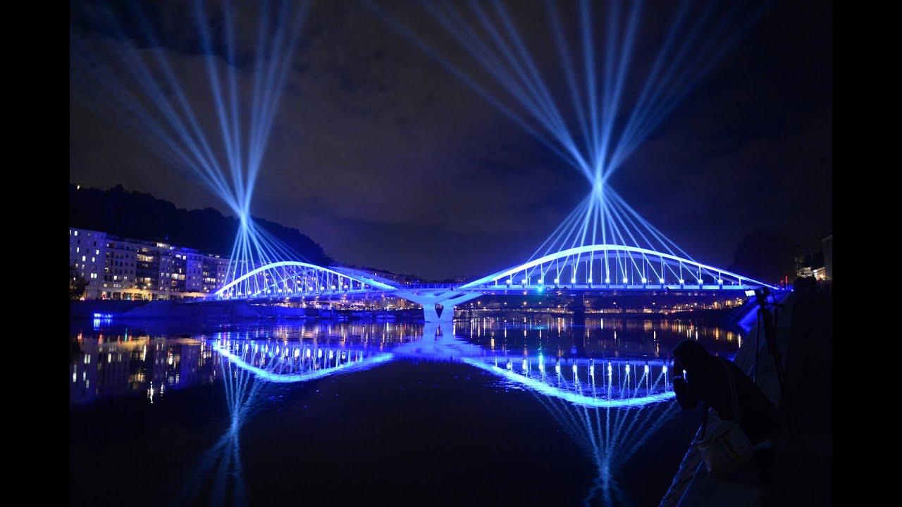 Construction Du Pont Schuman Lyon 69 Vinci Construction