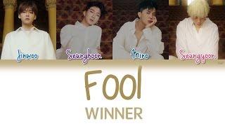 WINNER (위너) - Fool | Han/Rom/Eng | Color Coded Lyrics