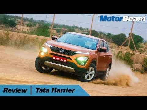 Tata Harrier Review - Best Indian Car Ever 🔥 | MotorBeam