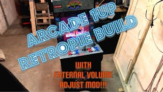 Replacing Marquee Vinyl - Arcade1Up Mod Life - hlub video