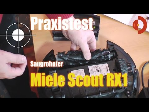 Saugroboter Miele Scout Rx1 im Test