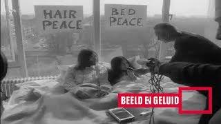 John Lennon en Yoko Ono in bed: Hilton Hotel (1969)