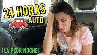 24 HORAS ENCERRADA EN EL AUTO | ¡ROMPIMOS EL COCHE! | Lyna Vlogs