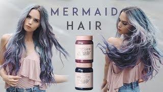 Mermaid Hair Using Limecrimes Unicorn Hair Dye | Kirsten Zellers