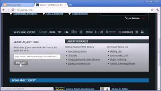 jQuery Tutorial - 1 - Introduction to jQuery