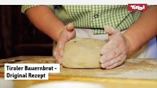 Tiroler Bauernbrot Rezept: Bauernbrot Einfach Selber Backen 👨🍳