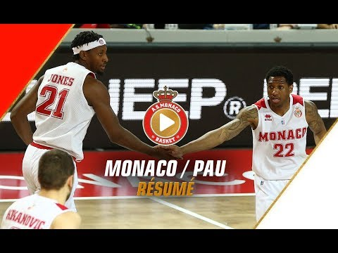 Jeep Elite — Monaco 91 - 74 Pau Lacq Orthez — Highlights