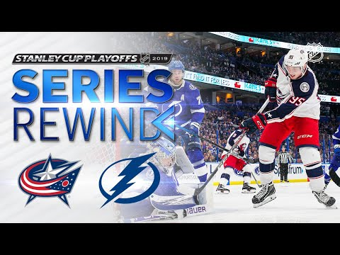 SERIES REWIND: Blue Jackets sweep Lightning in First Round