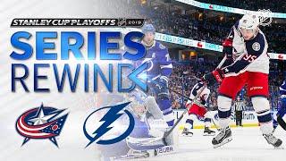 SERIES REWIND: Blue Jackets sweep Lightning in First Round