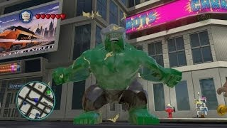 LEGO Marvel Super Heroes - Every Playable Character Unlocked + Gameplay