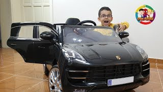 Yeni Akülü Araba Aldık ! Açtık, kurduk, bindik, çok eğlendik