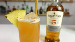 PINEAPPLE FIZZ Cocktail Recipe - Rum, Pineapple, Tropically Goodness!
