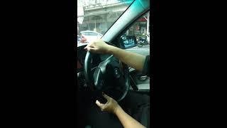 สอนขับรถยนต์ ถอยจอดช่องว่างด้านซ้ายสถาณการจริง [รถบ้าน Bmw ]