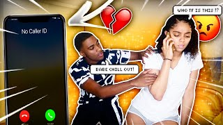 ANOTHER GIRL CALLED MY PHONE AND MY GIRLFRIEND ANSWERED!! *SHE GOES CRAZY*