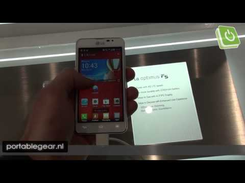 LG Optimus F5 hands-on @ MWC 2013