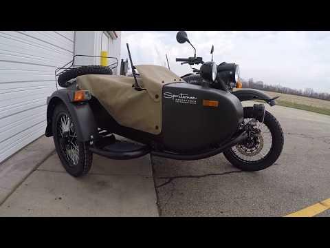 2017 Ural GearUp Sidecar Motorcycle