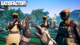 [LIVE🔴] *clap* *clap* End of the Game, Oil, Geothermal Power & Completing | Satisfactory Gameplay