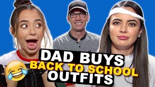 Dad Buys Daughters Back To School Outfits - Merrell Twins