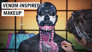 WE. ARE. VENOM. for Halloween in this makeup tutorial!