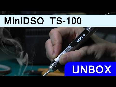 Cautin Programable Ts100 Hasta 65 Watts Con Micro Stm32