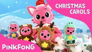 Rudolph, the Red Nosed Reindeer | Christmas Carols | Pinkfong Plush | Pinkfong Songs for Children
