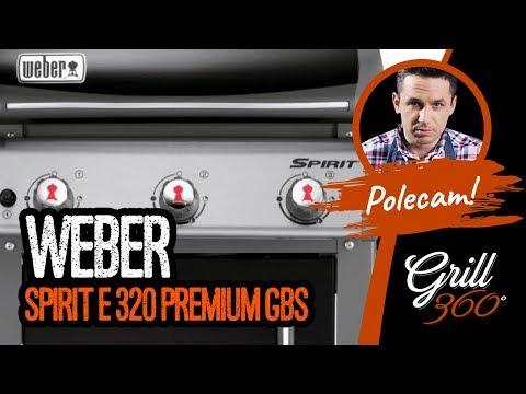 Weber Spirit E 320 Premium GBS I RECENZJA GRILL360