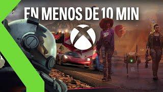 Resumen MICROSOFT y BETHESDA E3 2021 en menos de 10 minutos: ¡27 JUEGOS para XBOX GAME PASS!