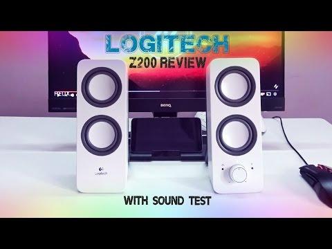 logitech Z200 speakers review & sound test   Best budget speakers