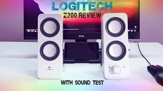 logitech Z200 speakers review & sound test | Best budget speakers
