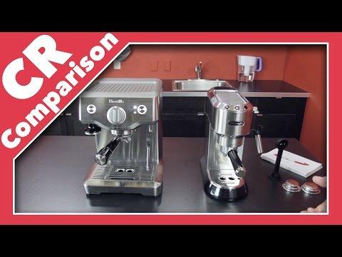 , Delonghi EC680M DEDICA 15-Bar Pump Espresso Machine, Stainless Steel review