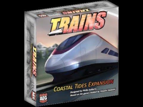 Bower's Game Corner: Trains: Coastal Tides Review