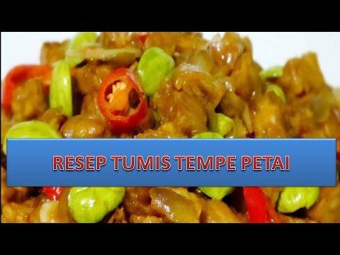 Video RESEP TUMIS TEMPE PETAI