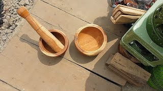 Kitchen Equipment Update: Mortar And Pestle Must Feature in My Nigerian Kitchen | Kholo.pk