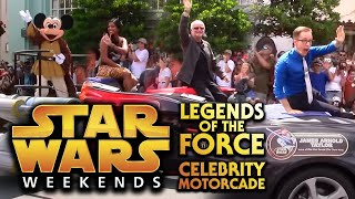 Star Wars Legends of the Force Celebrity Motorcade - Star Wars Weekends 2015, Walt Disney World