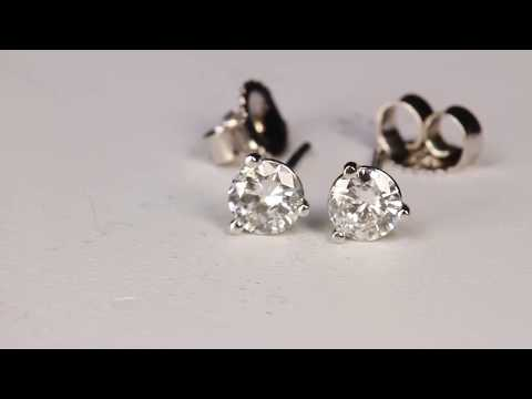 Diamond Earrings .37 Carat