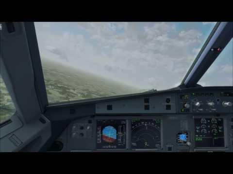 FSX - Aerosoft A320 Wizz Air Takeoff EHEH Eindhoven Airport