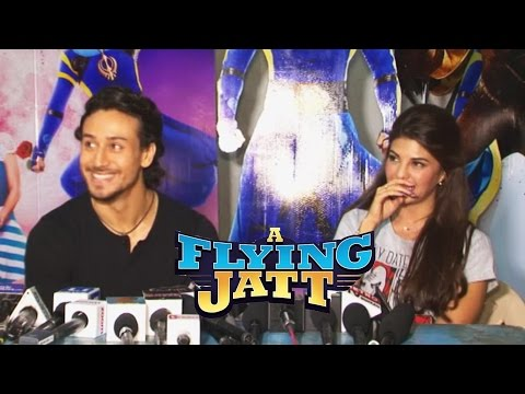 Flying Jatt Cast Full Interview | Tiger Shroff And Jacqueline Fernandez